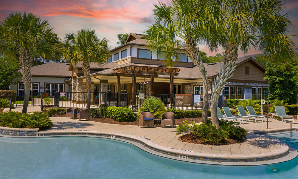 Brookview at Citrus Park Clubhouse Pool and Resident Lounge